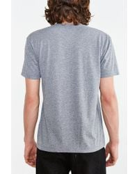 Urban Outfitters - Gray Fern Pattern Wolf Tee for Men - Lyst