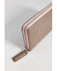 BDG - Pink Zip Wallet - Lyst
