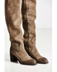 Jeffrey Campbell - Brown Raylan Over The Knee Boot - Lyst