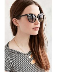 Urban Outfitters | Black Marley Petite Cat-eye Sunglasses | Lyst