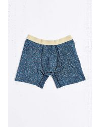 Urban Outfitters | Blue Floral Boxer Brief for Men | Lyst