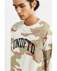 Undefeated - Multicolor Camo Long-sleeve Tee for Men - Lyst