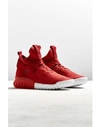 Adidas Originals | Gray Tubular X Primeknit Sneaker for Men | Lyst