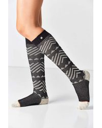 Stance - Black Delvalle Tall Boot Sock - Lyst