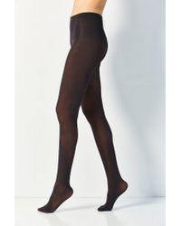 Urban Outfitters - Black 80 Denier Basic Opaque Tight - Lyst