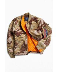 Alpha Industries | Multicolor + Uo Finished Hem Ma-1 Bomber Jacket for Men | Lyst