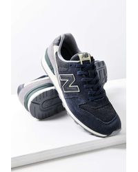 New Balance | Black 696 Winter Seaside Running Sneaker | Lyst