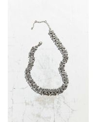 Urban Outfitters - Metallic Gemma Hardware Chain Necklace - Lyst