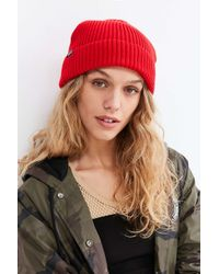 Patagonia | Red Fisherman's Rolled Beanie | Lyst