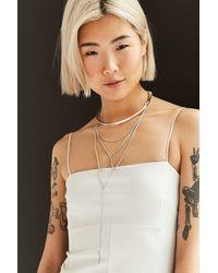 Jenny Bird - Metallic Neith Necklace - Lyst