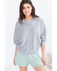 Project Social T | Gray X Out From Under Janie Hoodie Sweatshirt | Lyst
