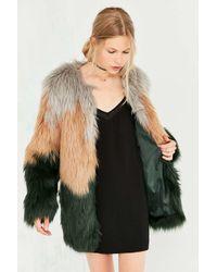 Kimchi Blue - Multicolor Kira Oversized Faux Fur Jacket - Lyst