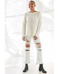 Kimchi Blue - Multicolor Lea Lace-up Pullover Sweater - Lyst