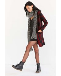 Silence + Noise - Multicolor Buffalo Plaid Cardigan - Lyst
