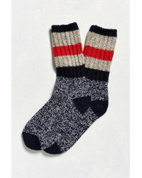 Woolrich - Multicolor Rugby Stripe Sock for Men - Lyst