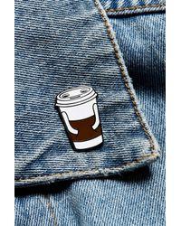Valley Cruise Press - White X Jason Sturgill Coffee Buddy Pin - Lyst