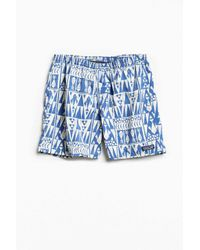 "Patagonia | Blue 5"" Printed Baggies Short for Men 