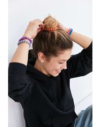 Urban Outfitters | Multicolor Telephone Cord Ponytail Holder Set | Lyst