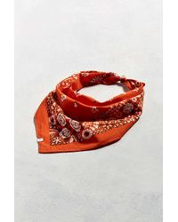 Urban Outfitters | Orange Uo Floral Paisley Bandana for Men | Lyst