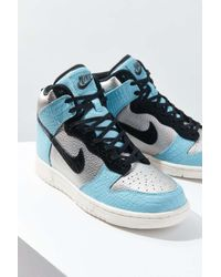 Nike | Blue Dunk High Lx Sneaker | Lyst