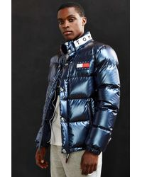 980e9825 Tommy Hilfiger Tommy Jeans For Uo '90s Down Puffer Jacket in Blue ...