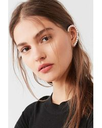 Urban Outfitters - Metallic Pearl Statement Ear Cuff - Lyst
