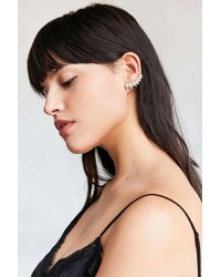 Urban Outfitters | Metallic Rising Sun Ear Climber Earring | Lyst