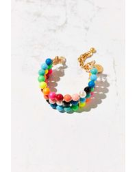 Venessa Arizaga - Multicolor Candy Queen Pearl Bracelet - Lyst