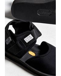 Suicoke | Black Bita V Sandal for Men | Lyst