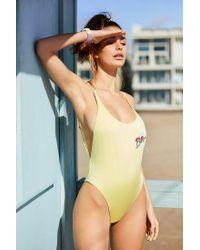 Billabong | Metallic X Uo Sunny Eyes One-piece Swimsuit | Lyst