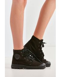 Palladium - Black Pampa Hi Originale Sneaker Boot for Men - Lyst
