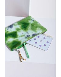 Urban Outfitters | Green Tie-dye Pouch | Lyst