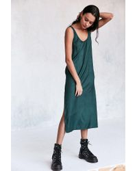 Cooperative | Green Daphne Scoop-back Midi Slip Dress | Lyst