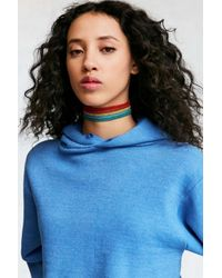 Urban Outfitters   Red Rainbow Statement Choker Necklace   Lyst