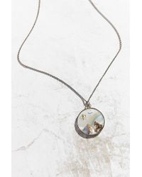 Urban Outfitters - Multicolor Vintage Mother Of Pearl Charm Necklace - Lyst