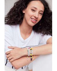 Venessa Arizaga | Pink Happy Smile Bracelet | Lyst