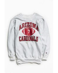 Urban Outfitters - Gray Vintage Champion Cardinals Crew Neck Sweatshirt for Men - Lyst