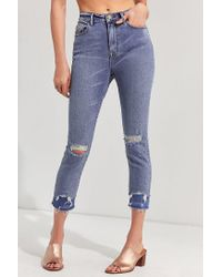 BDG - Blue Twig Crop High-rise Skinny Jean - Double Vision - Lyst