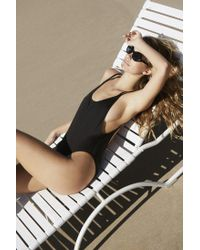 Out From Under - Black Scoop Back One-piece Swimsuit - Lyst