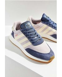 Adidas Originals   Blue Originals Iniki Boost Running Sneaker   Lyst