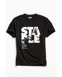Staple | Black Definition Tee for Men | Lyst