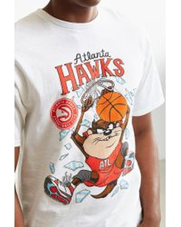 Junk Food - White Looney Tunes Atlanta Hawks Tee for Men - Lyst