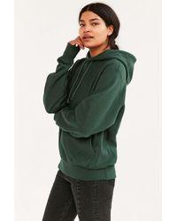 f1e64f56d3f5 Lyst - Champion Reverse Weave Hoodie Sweatshirt in Green