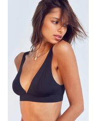 Out From Under - Black Jenni Micro Triangle Bra - Lyst