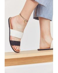 Urban Outfitters - Black Corded Charm Anklet - Lyst