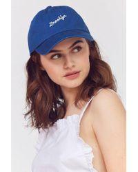American Needle - Blue City Verbiage Baseball Hat - Lyst