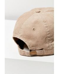 American Needle - Natural Corduroy Micro Variant Baseball Hat - Lyst