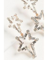 Urban Outfitters - Multicolor Zhuu Crystal Star Statement Earring - Lyst