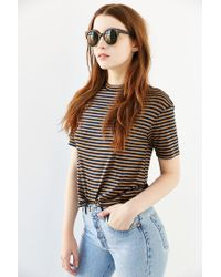 Urban Outfitters - Brown Festival Round Sunglasses - Lyst