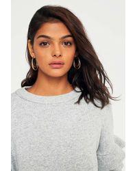 Urban Outfitters - Metallic Vintage Inspired Long Double Hoop Earrings - Womens All - Lyst